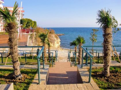 * Sold* Beach front line apartment, 1 bed, furnished – Lost in Paradise, St. Vlas