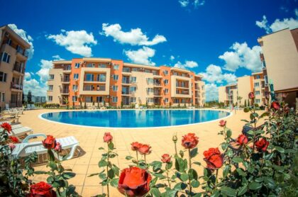 2-bed apartment for sale near the Aquapark in Sunny Beach (Holiday Fort)