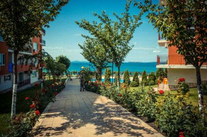 Sea-view apartment 100m from the beach – Marina Fort Beach, St. Vlas