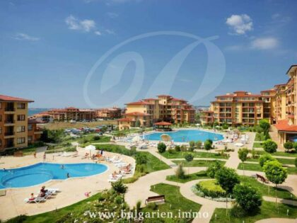 2 bed apartment 350m from the beach in Magic Dreams, St. Vlas (Buy in installments)