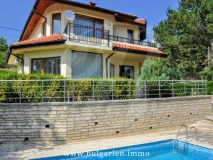Splendid 4 bed villa with sea views and pool near Albena