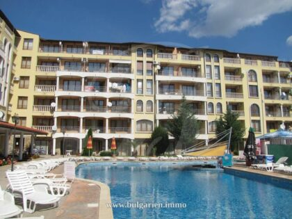 1-bedroom apartment in Royal Dreams, Sunny Beach – 5 minutes from Cacao Beach