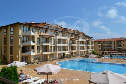 1-bed apartment (66m²) in Aqua Dreams – near the beach in St. Vlas