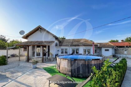 Ready-to-move-in one story house in Pliska, 40min from Varna * Sold *