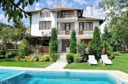 5-bed villa with pool near Balchik and its beaches