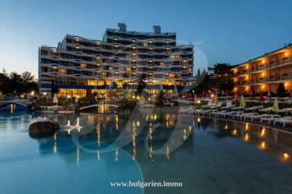 Refurbished one-bed apartment for sale in Trakia, Sunny Beach – 100m from the beach