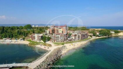 Beachfront 2-bed property in Nessebar with amazing sea-view