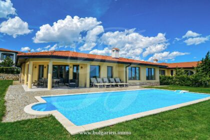 Impeccable 4-bed villa with stunning sea-view in BlackSeaRama